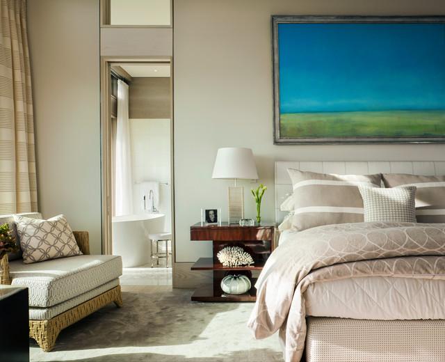 Truro Beach House Master Bedroom Beach Style Bedroom Boston By Jill Neubauer Architects