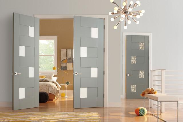 trustile modern door collection  interior glass doors  modern,