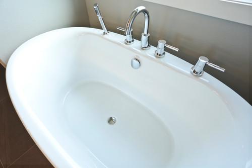 Soaking Tub in Bathroom Renovation in Portland Oregon