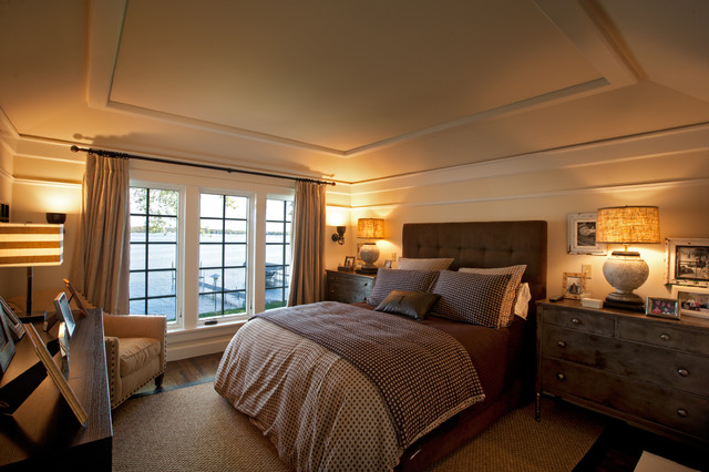 Tudor on the Point traditional bedroom