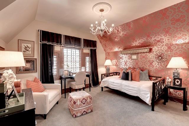 Tudor revival craftsman bedroom minneapolis by for Tudor style bedroom