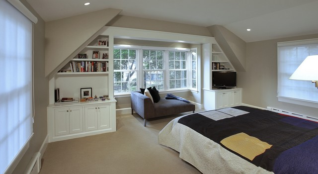 Tudor style addition in chevy chase traditional for Tudor style bedroom