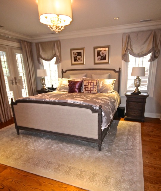 Tudor with Southern Flair traditional-bedroom
