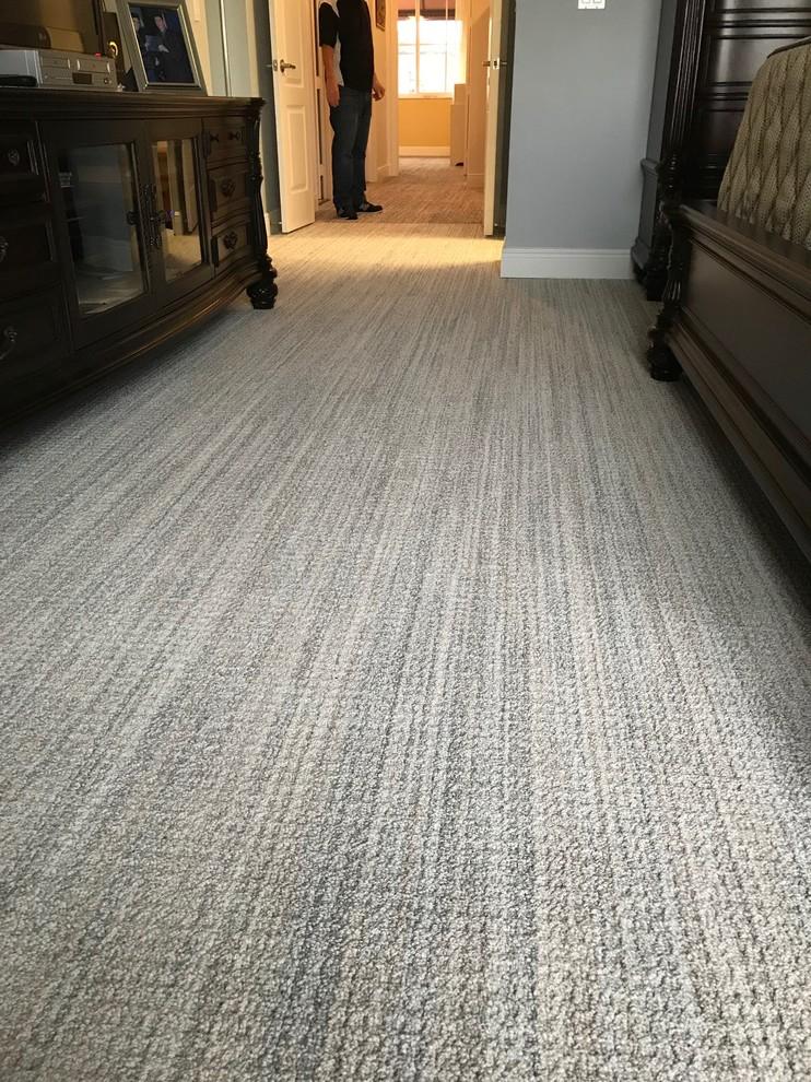 Tuftex Carpets Of California Sundance Installation Modern Bedroom Miami By Royal Palm Flooring