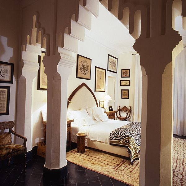 tunisian bedroom (arabic style) mediterranean bedroom