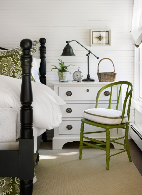 Turn of the Century Cottage beach-style-bedroom