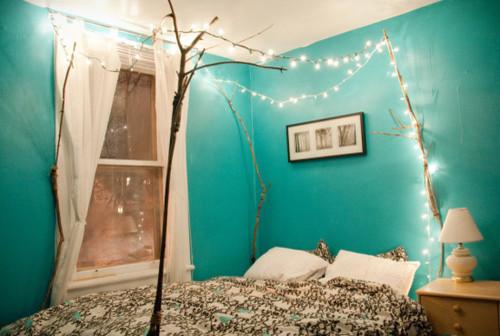 turquoise? bedroom