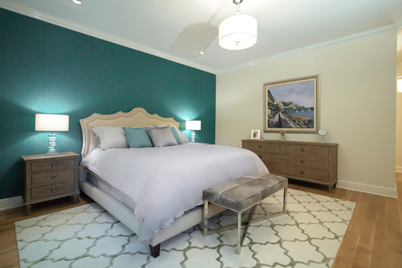 Tuscan Style Loft transitional-bedroom