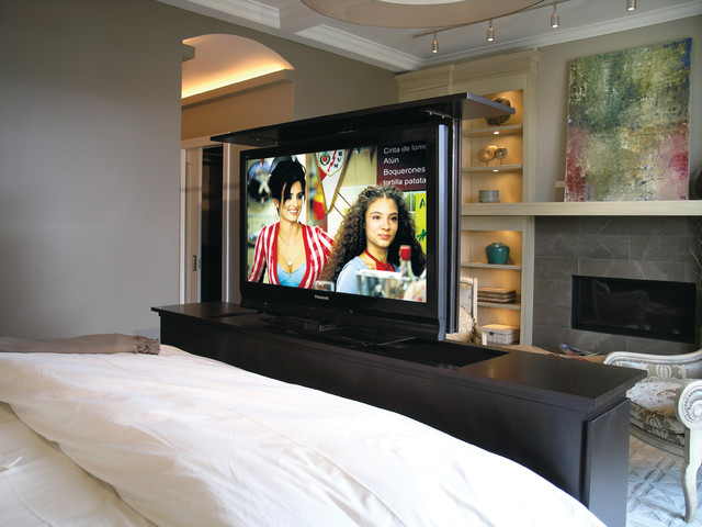 TV Lift For Bedroom Contemporary Chicago