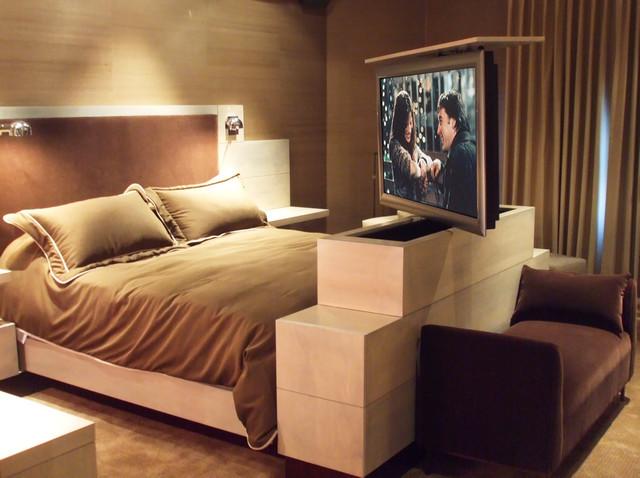 TV Lifts in Furniture - Contemporary - Bedroom - phoenix - by NEXUS 21