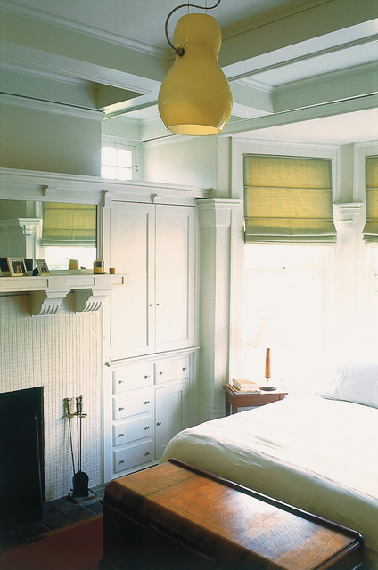 Twin Flats Residence traditional-bedroom