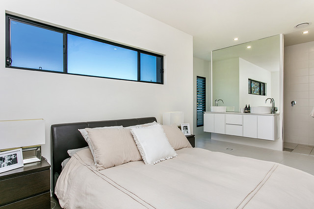 ultra modern beauty contemporary bedroom newcastle