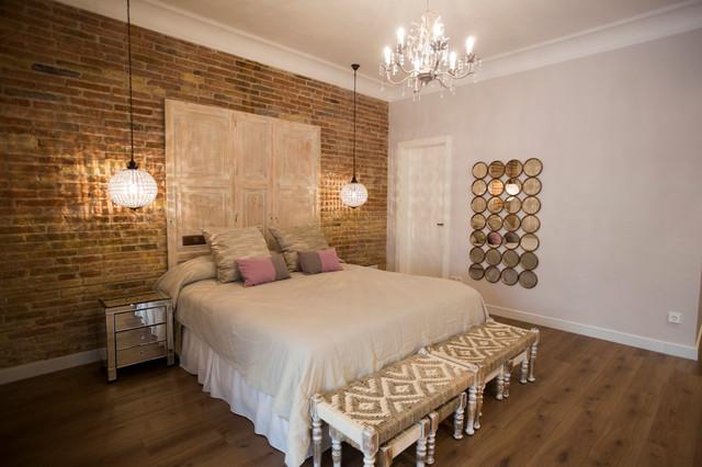 UN PISO CON MUCHO COLOR SHABBYCHIC Romntico Dormitorio