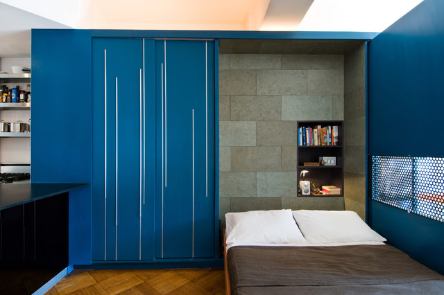 Modern Bedroom by Michael K Chen Architecture