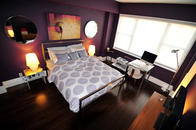 Union Square Condo contemporary-bedroom