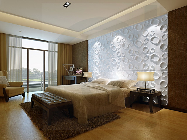 Unique Fashion Wall Panels For Bed Room Bedroom