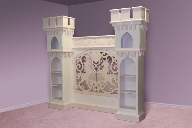 Unique girls beds eclectic bedroom minneapolis by - Unique girls bunk beds ...