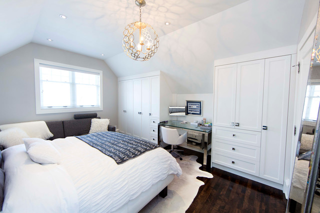unique lighting fixture contemporary bedroom
