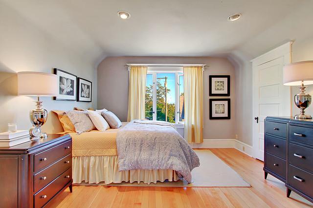 University Bungalow Master Bedroom
