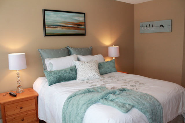 Updated Master Bedrooms Shabby Chic Calgary By Accent On Design Inc