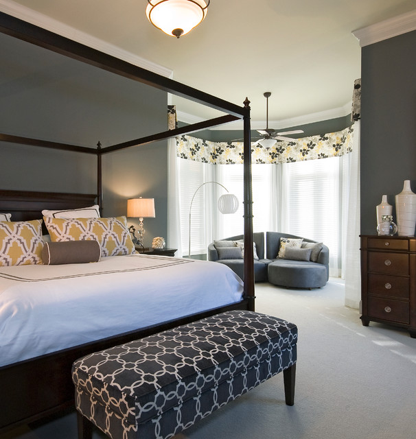 Updated Master Suite Transitional-bedroom