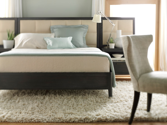 Upholstered Beds Transitional Bedroom by