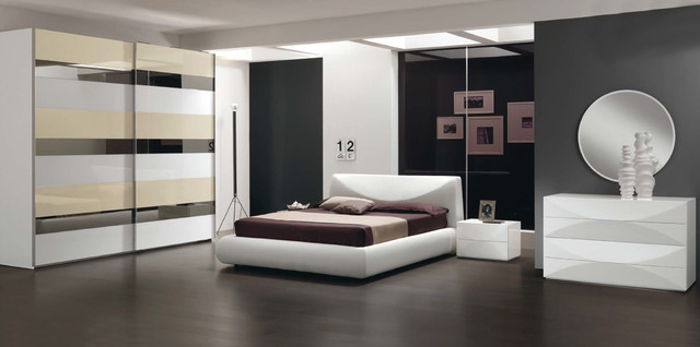 Upholstered Italian Bed Miro By Spar Bedroom Sets 2 699 00 Contemporary Bedroom New York By Valentini Kids Furniture Brooklyn Ny