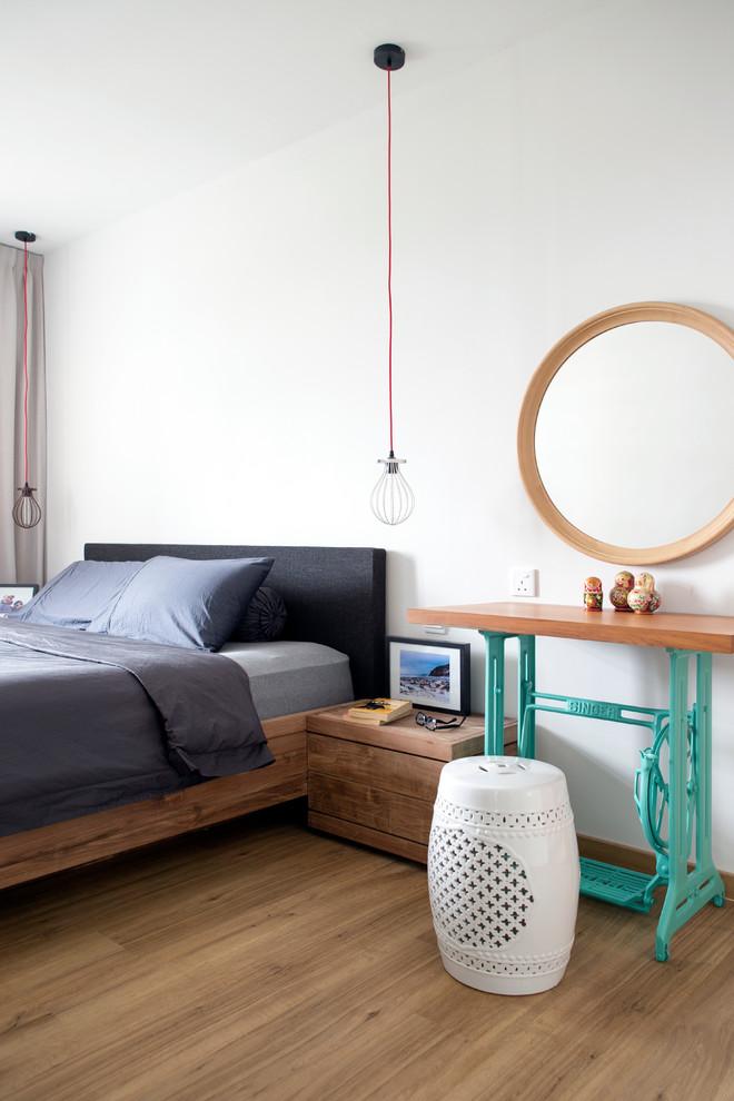 Example of a danish bedroom design in Singapore