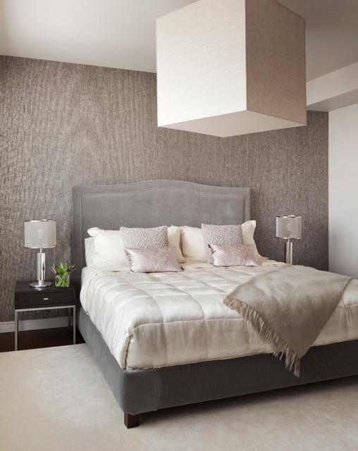 Upper east side residence transitional bedroom new for Transitional bedroom designs
