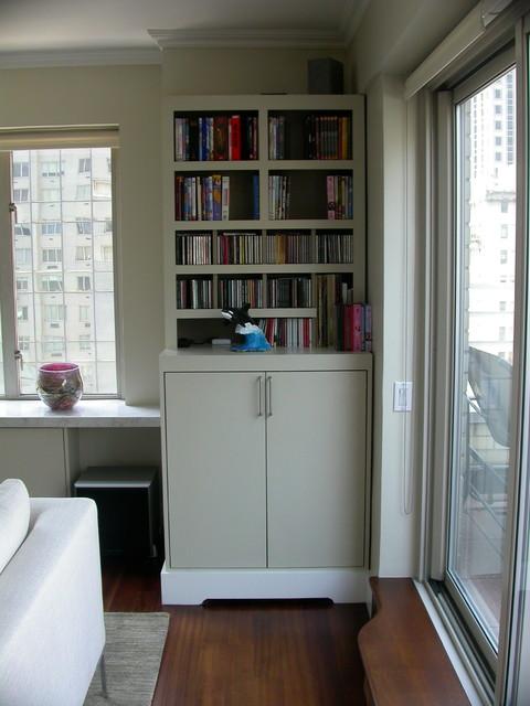 Upper East Side modern-bedroom