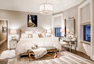 Upper West Side Duplex transitional-bedroom