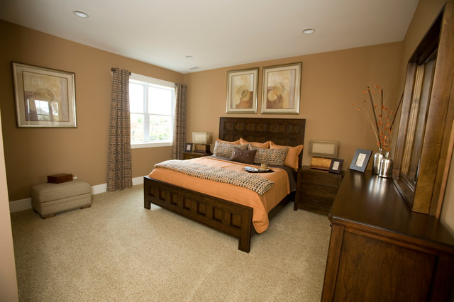 Upscale Arts & crafts inspired Home traditional-bedroom