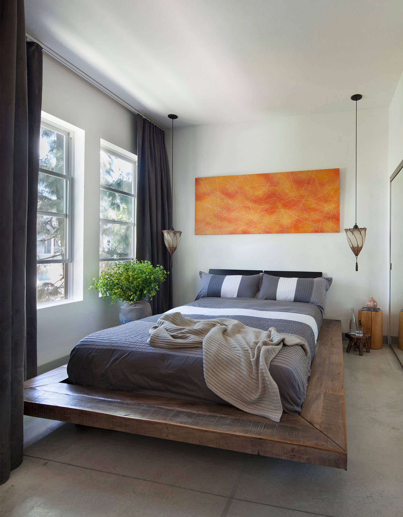 11 Beautiful Industrial Bedroom Pictures & Ideas - January, 11