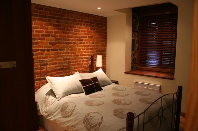 Urban Bedroom In Old House Eclectic Bedroom