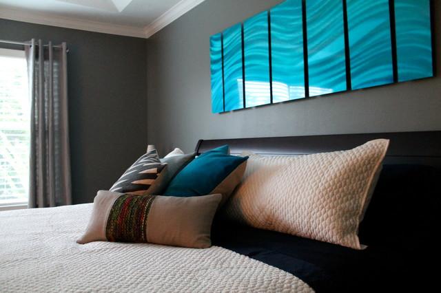 Urban Bedroom contemporary-bedroom