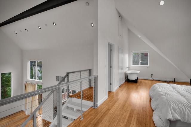 Modern Duplex contemporary-bedroom