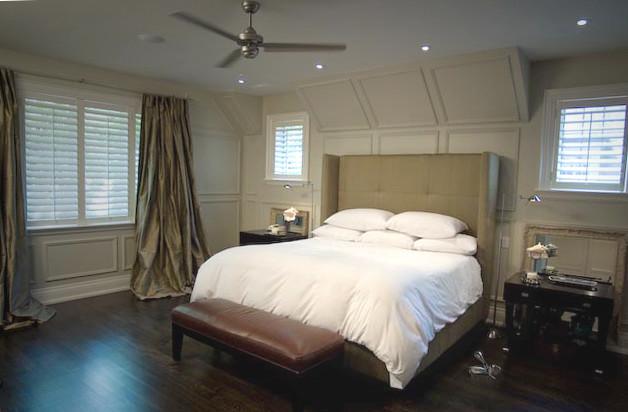 Urban Country Manor eclectic-bedroom