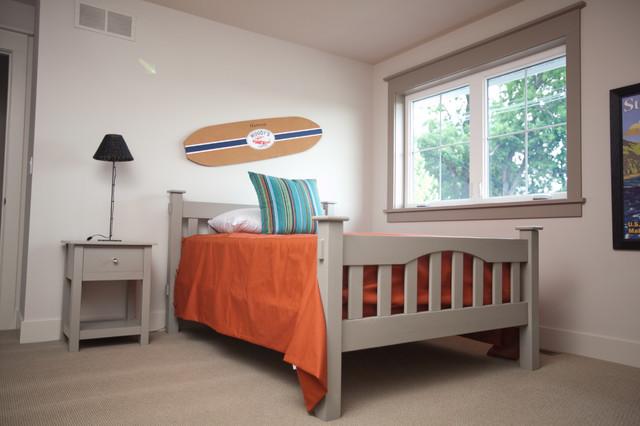 Urban Farmhouse contemporary-bedroom