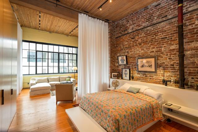 Urban Loft industrial bedroom. Urban Loft   Industrial   Bedroom   Seattle   by Crescent Builds