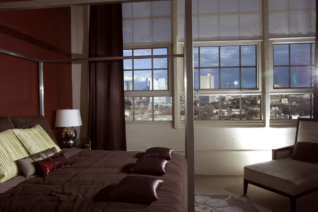 Urban Loft Fort Worth Tx Contemporary Bedroom Dallas By Wintercreative Interior