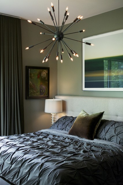 Urban Oasis contemporary bedroom