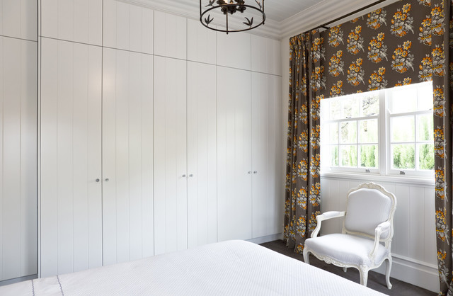 V Groove Robe traditional-bedroom