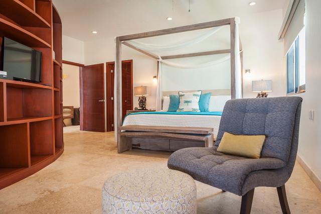 Vacation Home in Mexico contemporary-bedroom