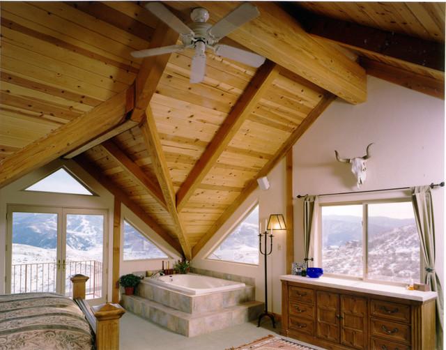 Vail Duplex eclectic-bedroom