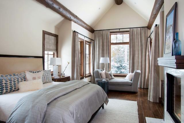 Vail home traditional bedroom denver by slifer designs for Interior designers vail colorado