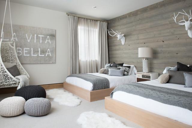 Vail Ski Haus scandinavian-bedroom