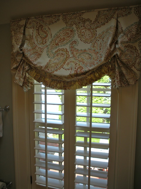 valances traditional bedroom boston by roseann mortali