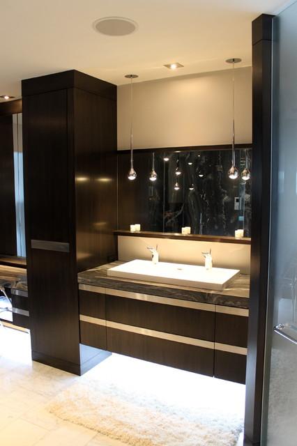 vanity contemporary bedroom toronto by paul vandeborne