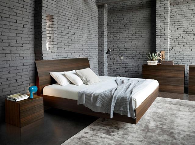 Camere Da Letto Rossetto.Vela Wooden Platform Bed By Rossetto 1 199 00 Moderno