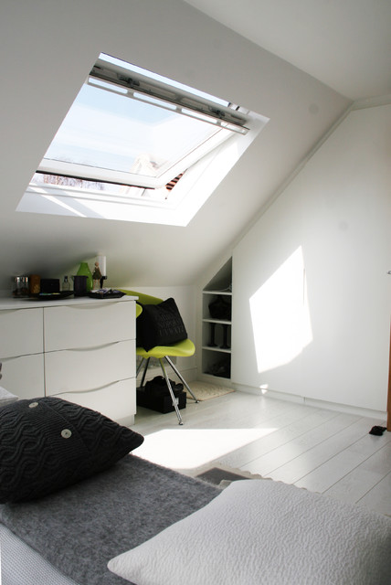 Velux contemporary-bedroom